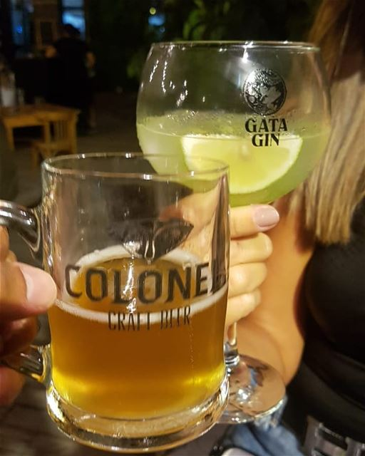batroun  cheers  beer  gin  البترون_سفرة @colonelbeer  bebatrouni ... (Colonel Beer Brewery)